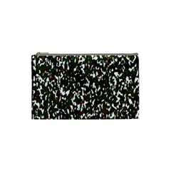 Camouflaged Seamless Pattern Abstract Cosmetic Bag (Small)