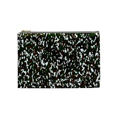 Camouflaged Seamless Pattern Abstract Cosmetic Bag (Medium)