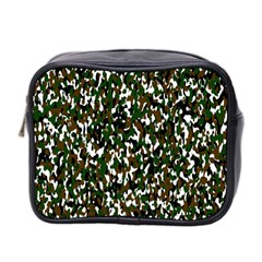 Camouflaged Seamless Pattern Abstract Mini Toiletries Bag 2-Side