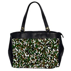 Camouflaged Seamless Pattern Abstract Office Handbags (2 Sides)