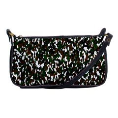 Camouflaged Seamless Pattern Abstract Shoulder Clutch Bags