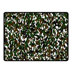 Camouflaged Seamless Pattern Abstract Fleece Blanket (Small)