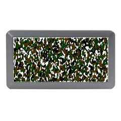 Camouflaged Seamless Pattern Abstract Memory Card Reader (Mini)