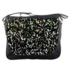 Camouflaged Seamless Pattern Abstract Messenger Bags