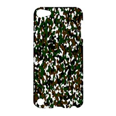 Camouflaged Seamless Pattern Abstract Apple iPod Touch 5 Hardshell Case