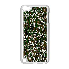Camouflaged Seamless Pattern Abstract Apple iPod Touch 5 Case (White)