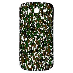 Camouflaged Seamless Pattern Abstract Samsung Galaxy S3 S Iii Classic Hardshell Back Case