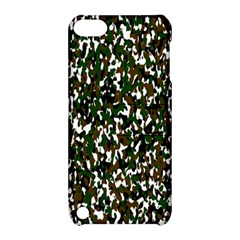 Camouflaged Seamless Pattern Abstract Apple iPod Touch 5 Hardshell Case with Stand