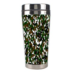 Camouflaged Seamless Pattern Abstract Stainless Steel Travel Tumblers