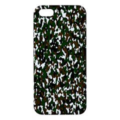 Camouflaged Seamless Pattern Abstract Iphone 5s/ Se Premium Hardshell Case