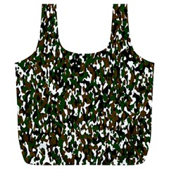 Camouflaged Seamless Pattern Abstract Full Print Recycle Bags (l)