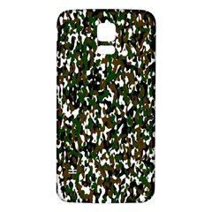 Camouflaged Seamless Pattern Abstract Samsung Galaxy S5 Back Case (white)
