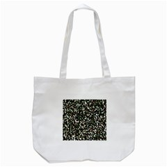 Camouflaged Seamless Pattern Abstract Tote Bag (White)