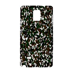 Camouflaged Seamless Pattern Abstract Samsung Galaxy Note 4 Hardshell Case