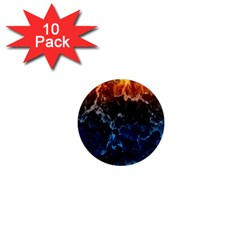 Abstract Background 1  Mini Magnet (10 pack)