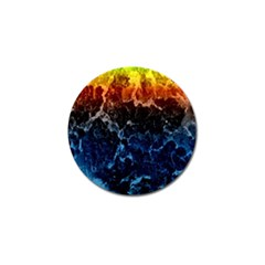 Abstract Background Golf Ball Marker (10 pack)