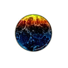 Abstract Background Hat Clip Ball Marker (4 pack)