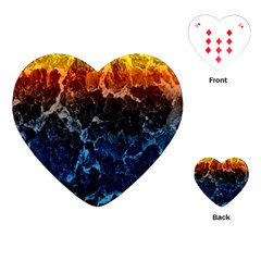 Abstract Background Playing Cards (heart)