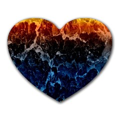 Abstract Background Heart Mousepads