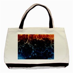 Abstract Background Basic Tote Bag (Two Sides)