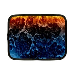 Abstract Background Netbook Case (Small)