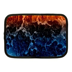 Abstract Background Netbook Case (Medium)