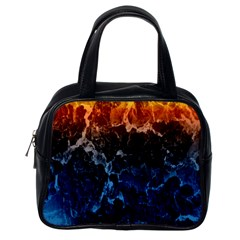 Abstract Background Classic Handbags (One Side)