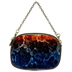 Abstract Background Chain Purses (two Sides)