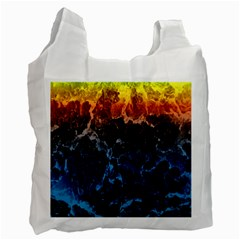 Abstract Background Recycle Bag (One Side)