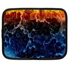 Abstract Background Netbook Case (xl)