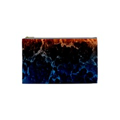 Abstract Background Cosmetic Bag (small)