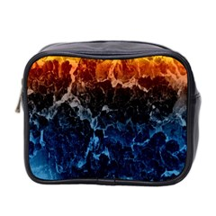 Abstract Background Mini Toiletries Bag 2 Side