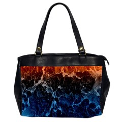 Abstract Background Office Handbags (2 Sides)