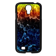 Abstract Background Samsung Galaxy S4 I9500/ I9505 Case (Black)