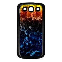 Abstract Background Samsung Galaxy S3 Back Case (black)