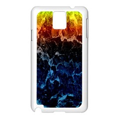 Abstract Background Samsung Galaxy Note 3 N9005 Case (white)