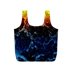 Abstract Background Full Print Recycle Bags (s)