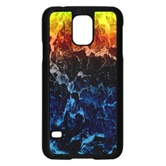 Abstract Background Samsung Galaxy S5 Case (black)