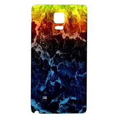 Abstract Background Galaxy Note 4 Back Case