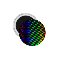 Digitally Created Halftone Dots Abstract Background Design 1.75  Magnets