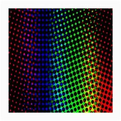 Digitally Created Halftone Dots Abstract Background Design Medium Glasses Cloth