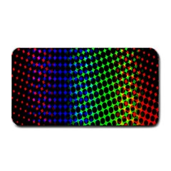 Digitally Created Halftone Dots Abstract Background Design Medium Bar Mats