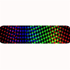Digitally Created Halftone Dots Abstract Background Design Large Bar Mats