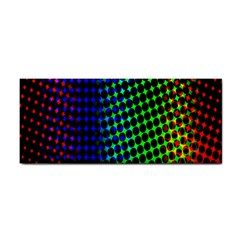 Digitally Created Halftone Dots Abstract Background Design Cosmetic Storage Cases
