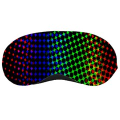 Digitally Created Halftone Dots Abstract Background Design Sleeping Masks