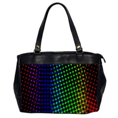 Digitally Created Halftone Dots Abstract Background Design Office Handbags