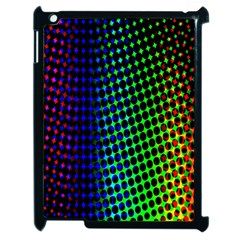 Digitally Created Halftone Dots Abstract Background Design Apple Ipad 2 Case (black)