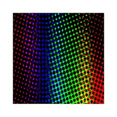 Digitally Created Halftone Dots Abstract Background Design Acrylic Tangram Puzzle (6  X 6 )