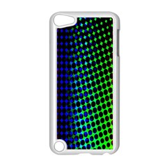Digitally Created Halftone Dots Abstract Background Design Apple Ipod Touch 5 Case (white)