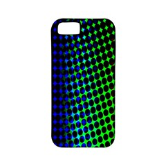 Digitally Created Halftone Dots Abstract Background Design Apple iPhone 5 Classic Hardshell Case (PC+Silicone)